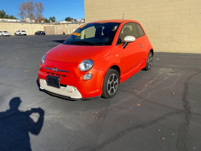 2017 FIAT 500e for sale at TOP QUALITY AUTO in Rancho Cordova CA