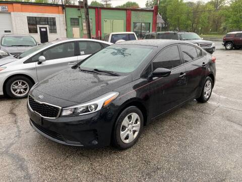 2017 Kia Forte for sale at ENFIELD STREET AUTO SALES in Enfield CT