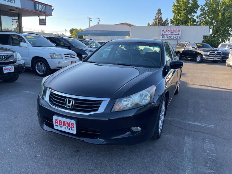 2008 Honda Accord for sale at Adams Auto Sales in Sacramento CA