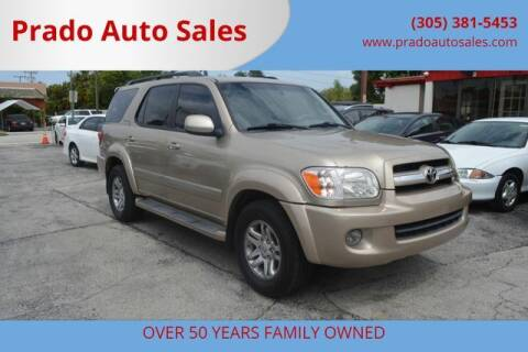2005 Toyota Sequoia for sale at Prado Auto Sales in Miami FL