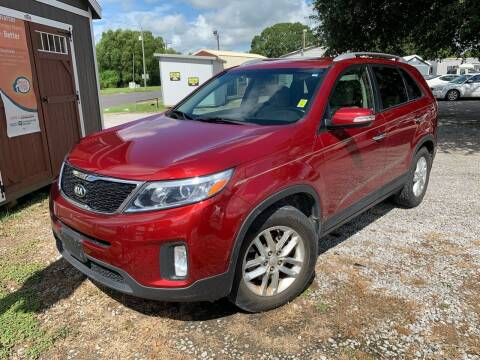 2014 Kia Sorento for sale at Supreme Autos in Lafayette LA
