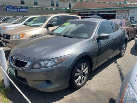 2008 Honda Accord for sale at Park Avenue Auto Lot Inc in Linden NJ
