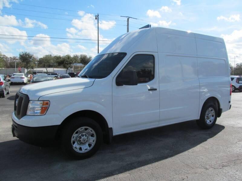 2016 Nissan NV Cargo for sale at Blue Book Cars in Sanford FL