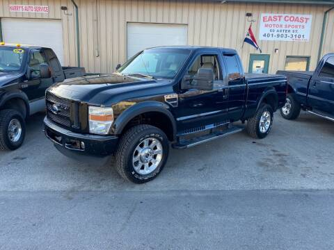 2008 Ford F-250 Super Duty for sale at East Coast Motor Sports in West Warwick RI