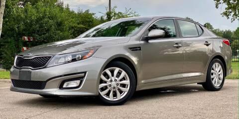 2015 Kia Optima for sale at Texas Auto Corporation in Houston TX