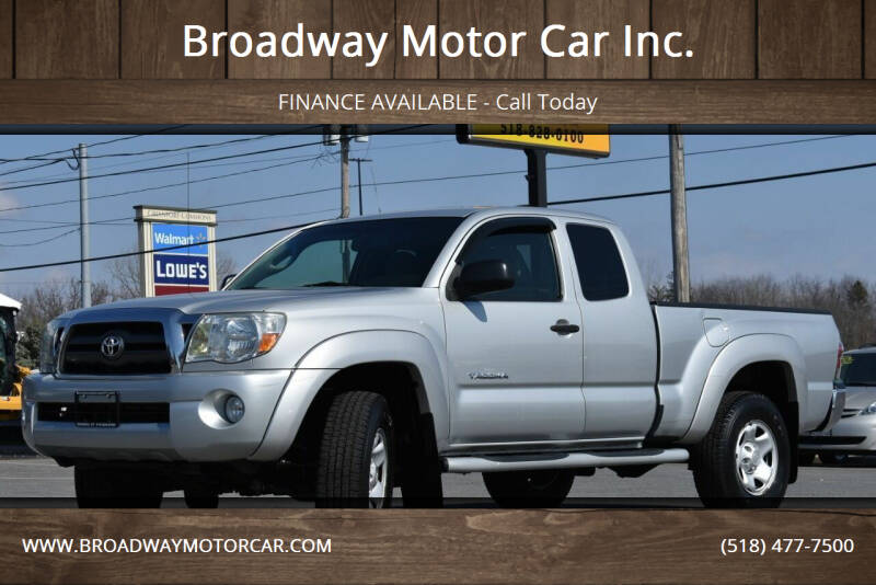2009 Toyota Tacoma for sale at Broadway Motor Car Inc. in Rensselaer NY