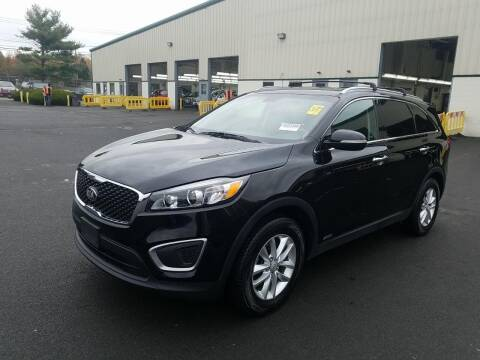 2016 Kia Sorento for sale at SILVER ARROW AUTO SALES CORPORATION in Newark NJ