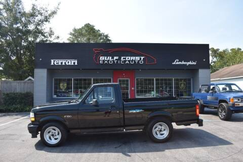 1993 Ford F-150 SVT Lightning for sale at Gulf Coast Exotic Auto in Biloxi MS
