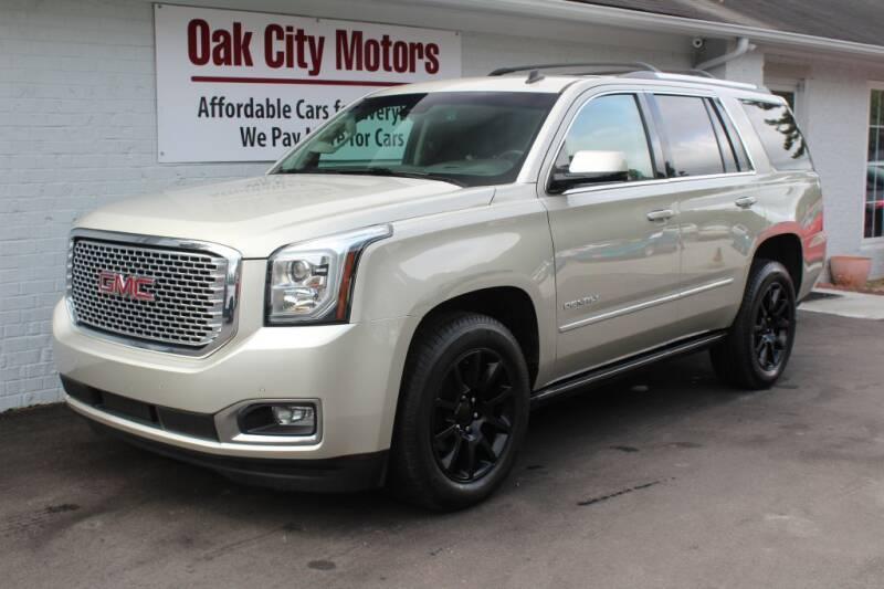 2015 GMC Yukon for sale at Oak City Motors in Garner NC