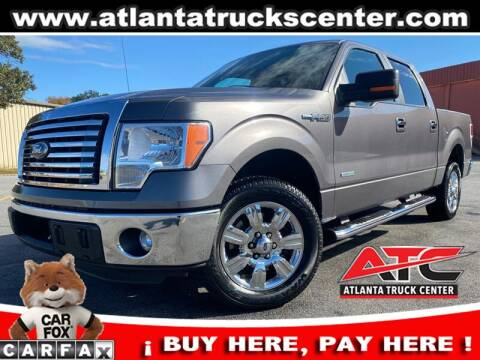 2012 Ford F-150 for sale at ATLANTA TRUCK CENTER LLC in Brookhaven GA