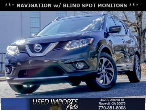 2016 Nissan Rogue for sale at Used Imports Auto in Roswell GA