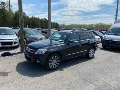 2012 Mercedes-Benz GLK for sale at Billy Ballew Motorsports in Dawsonville GA