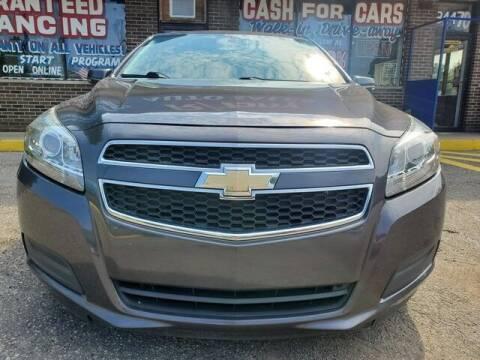 2013 Chevrolet Malibu for sale at R Tony Auto Sales in Clinton Township MI