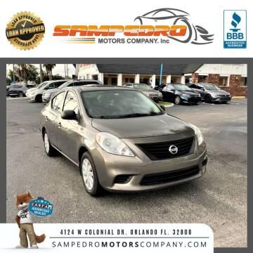 2014 Nissan Versa for sale at SAMPEDRO MOTORS COMPANY INC in Orlando FL
