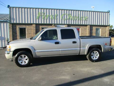 2006 GMC Sierra 1500 for sale at First Choice Auto in Greenville SC