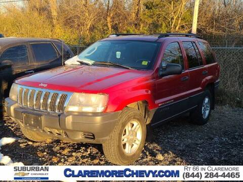 2003 Jeep Grand Cherokee for sale at Suburban Chevrolet in Claremore OK
