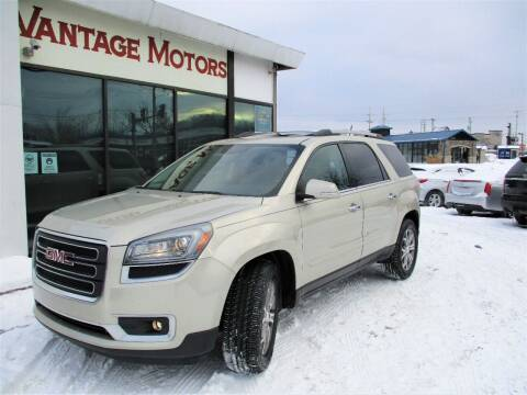2013 GMC Acadia for sale at Vantage Motors LLC in Raytown MO