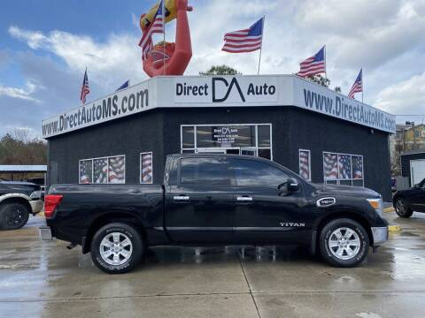 2017 Nissan Titan for sale at Direct Auto in D'Iberville MS