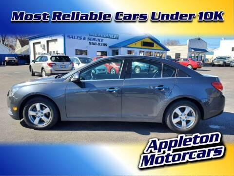 2013 Chevrolet Cruze for sale at Appleton Motorcars Sales & Service in Appleton WI