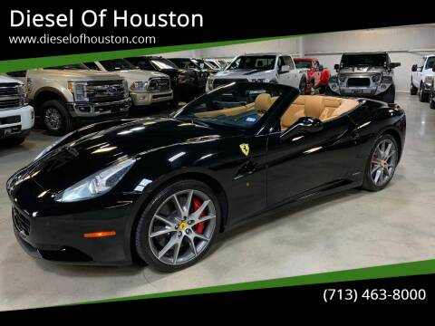 2011 Ferrari California for sale at Diesel Of Houston in Houston TX