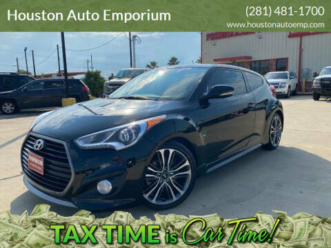 2016 Hyundai Veloster for sale at Houston Auto Emporium in Houston TX