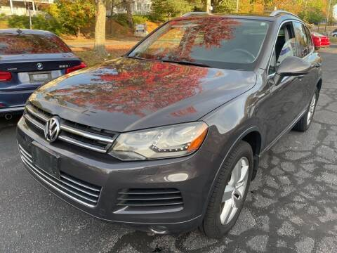 2012 Volkswagen Touareg for sale at Premier Automart in Milford MA