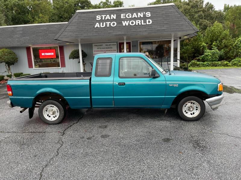 1994 Ford Ranger for sale at STAN EGAN'S AUTO WORLD, INC. in Greer SC