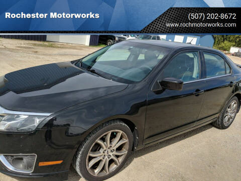2010 Ford Fusion for sale at Rochester Motorworks in Rochester MN