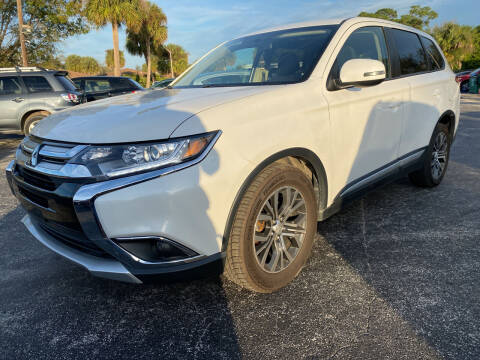 2017 Mitsubishi Outlander for sale at Coastal Auto Ranch, Inc. in Port Saint Lucie FL
