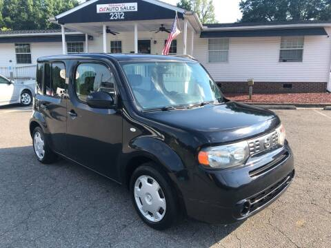 2011 Nissan cube for sale at CVC AUTO SALES in Durham NC