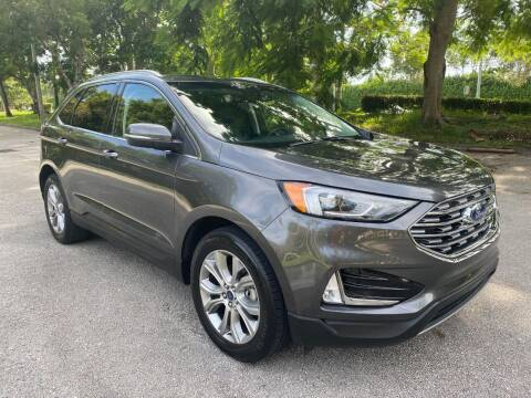 2019 Ford Edge for sale at DELRAY AUTO MALL in Delray Beach FL