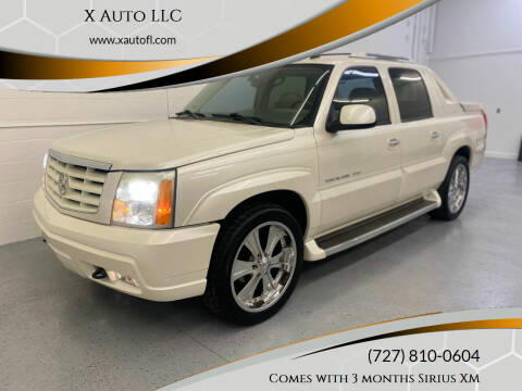 2006 Cadillac Escalade EXT for sale at X Auto LLC in Pinellas Park FL