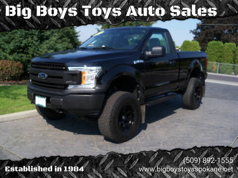 2019 Ford F-150 for sale at Big Boys Toys Auto Sales in Spokane Valley WA