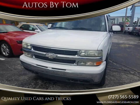 2001 Chevrolet Suburban for sale at Autos by Tom in Largo FL