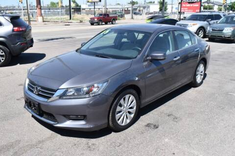 2015 Honda Accord for sale at Good Deal Auto Sales LLC in Denver CO