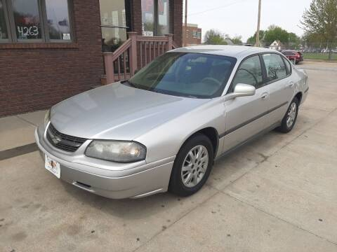2005 Chevrolet Impala for sale at CARS4LESS AUTO SALES in Lincoln NE