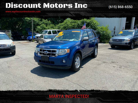 2008 Ford Escape for sale at Discount Motors Inc in Madison TN