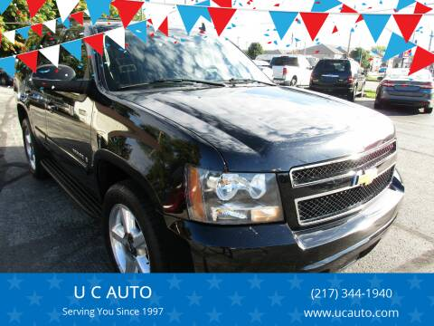 2007 Chevrolet Tahoe for sale at U C AUTO in Urbana IL