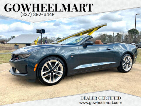2020 Chevrolet Camaro for sale at GOWHEELMART in Leesville LA