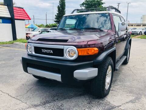 2007 Toyota FJ Cruiser for sale at Gtr Motors in Fort Lauderdale FL