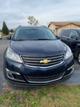 2015 Chevrolet Traverse for sale at DAVE KNAPP USED CARS in Lapeer MI