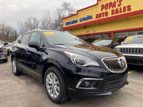 2017 Buick Envision for sale at Popas Auto Sales in Detroit MI