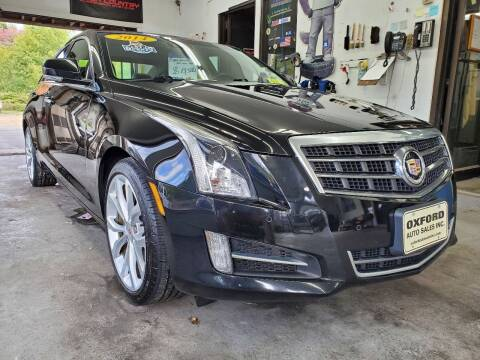 2014 Cadillac ATS for sale at Oxford Auto Sales in North Oxford MA