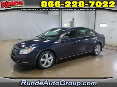 2012 Chevrolet Malibu for sale at Runde Chevrolet in East Dubuque IL