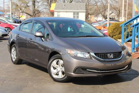 2013 Honda Civic for sale at Dynamics Auto Sale in Highland IN