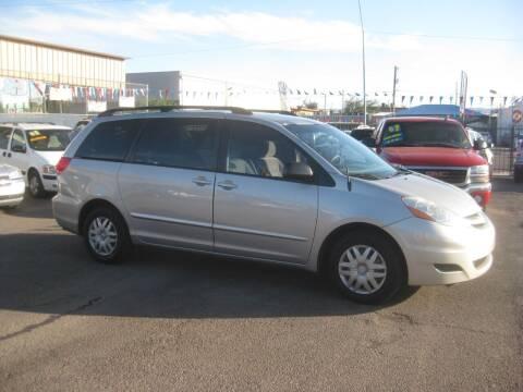 2007 Toyota Sienna for sale at Town and Country Motors - 1702 East Van Buren Street in Phoenix AZ