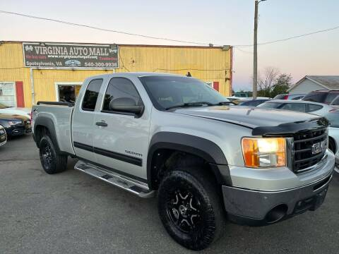 2010 GMC Sierra 1500 for sale at Virginia Auto Mall in Woodford VA