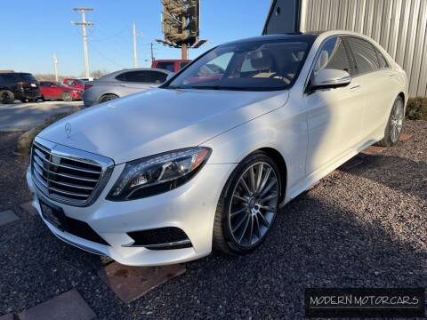 2017 Mercedes-Benz S-Class for sale at Modern Motorcars in Nixa MO