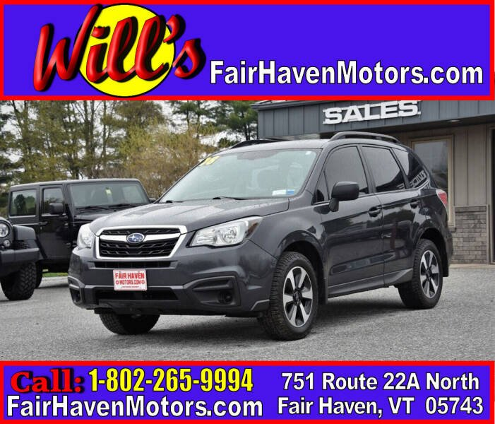 2018 Subaru Forester for sale at Will's Fair Haven Motors in Fair Haven VT