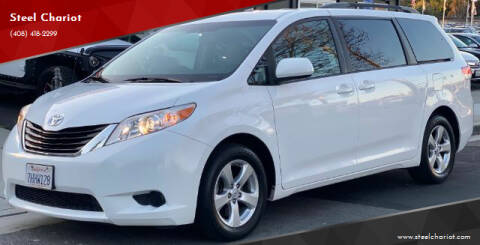 2014 Toyota Sienna for sale at Steel Chariot in San Jose CA